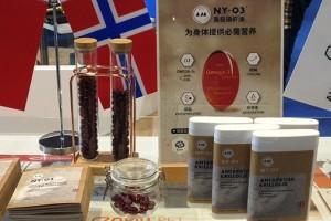 """挪威阿克&NYO3带""""海洋型磷脂""""纯南极磷虾油来中国"""